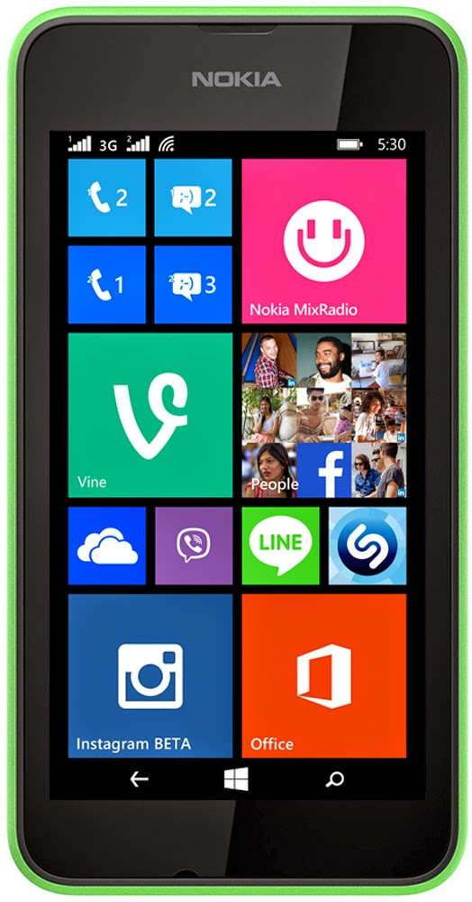 Microsofts cheapest  Lumia 530 available in India for Rs.7349.00 with Windows 8.1 onboard