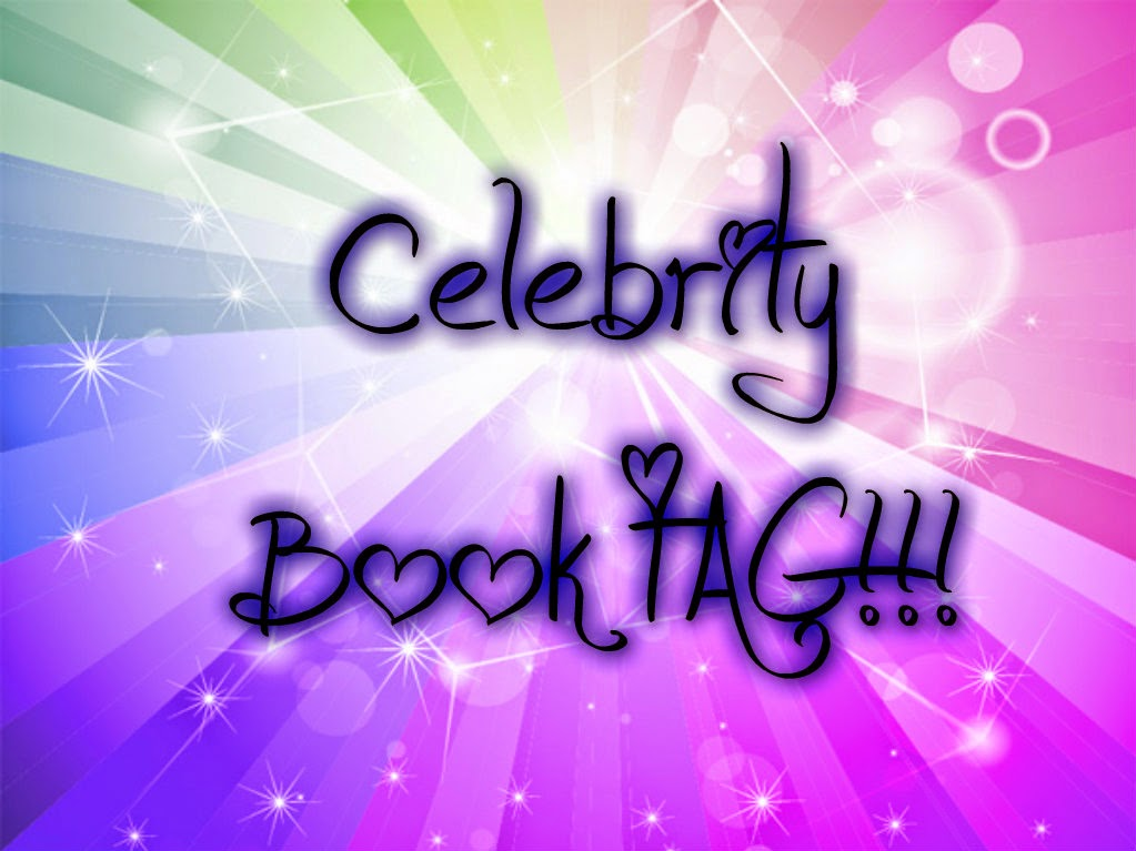 Celebrity Book TAG!!!
