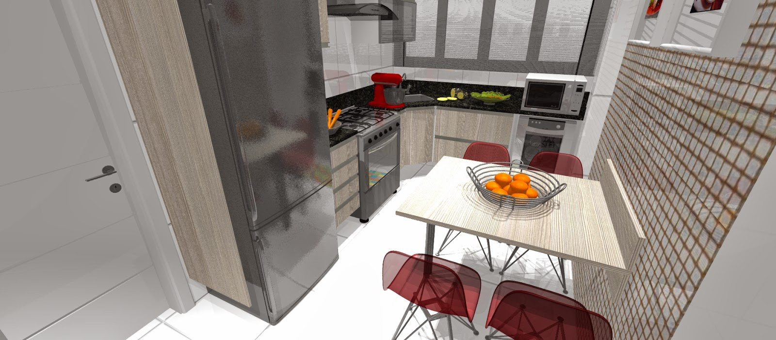 Cozinha Com Lava Loua Lava Loua Inox De Encastrar Pia E Escorredor