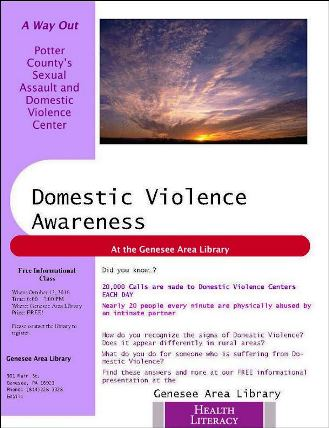 10-12 Domestic Violence Awareness