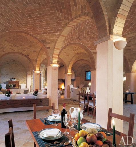 New home interior design rustic italian villas for Italian villa interior design