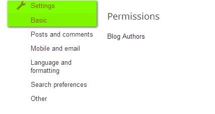 blogger blog login email changing tips
