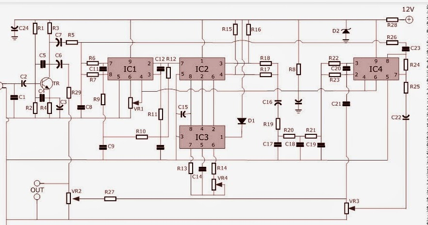 echo chamber schematic diagram audio circuit rh audio circuits blogspot com Google Echo Chamber Echo Chamber Effect