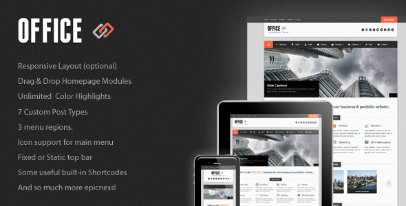 Office - Business WordPress Theme Free Download by ThemeForest.