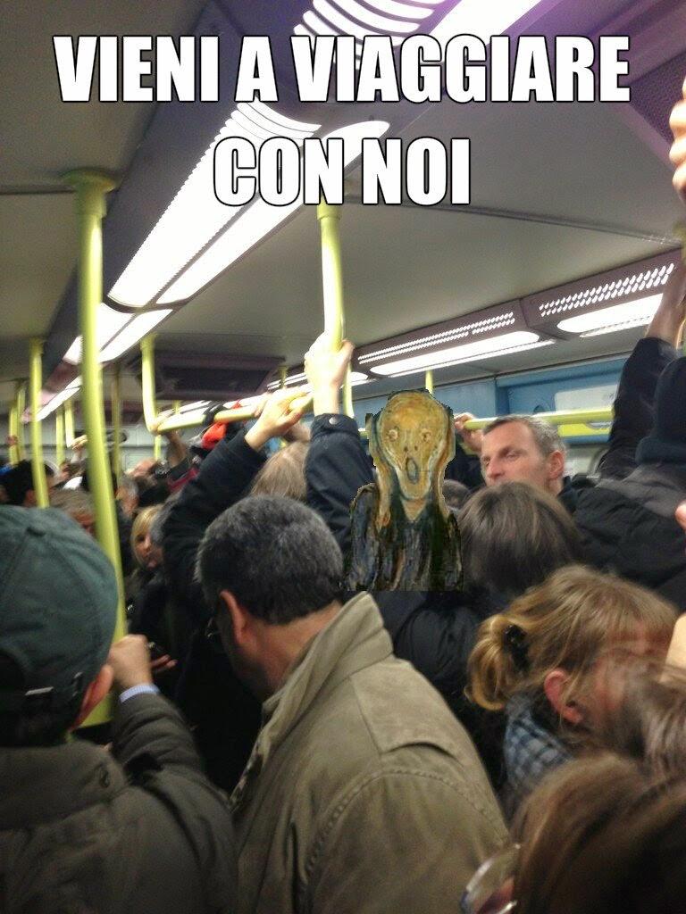 Folla sulla Roma-Lido