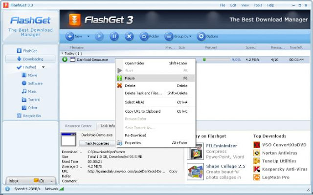 FlashGet Software Downloader Alternatif IDM