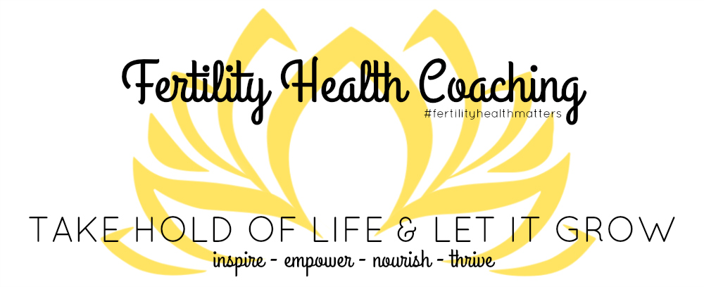 Fertility Health Coaching - The Blog
