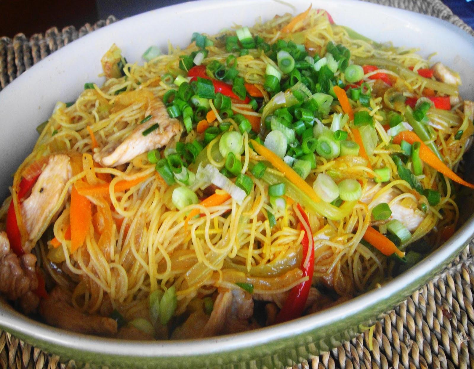 Singapore Noodles Recipe — Dishmaps