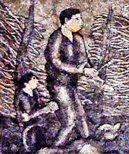 PROCESIÓN RELIGIOSA (frags.) de Mirlón de Jesús: Cohetero