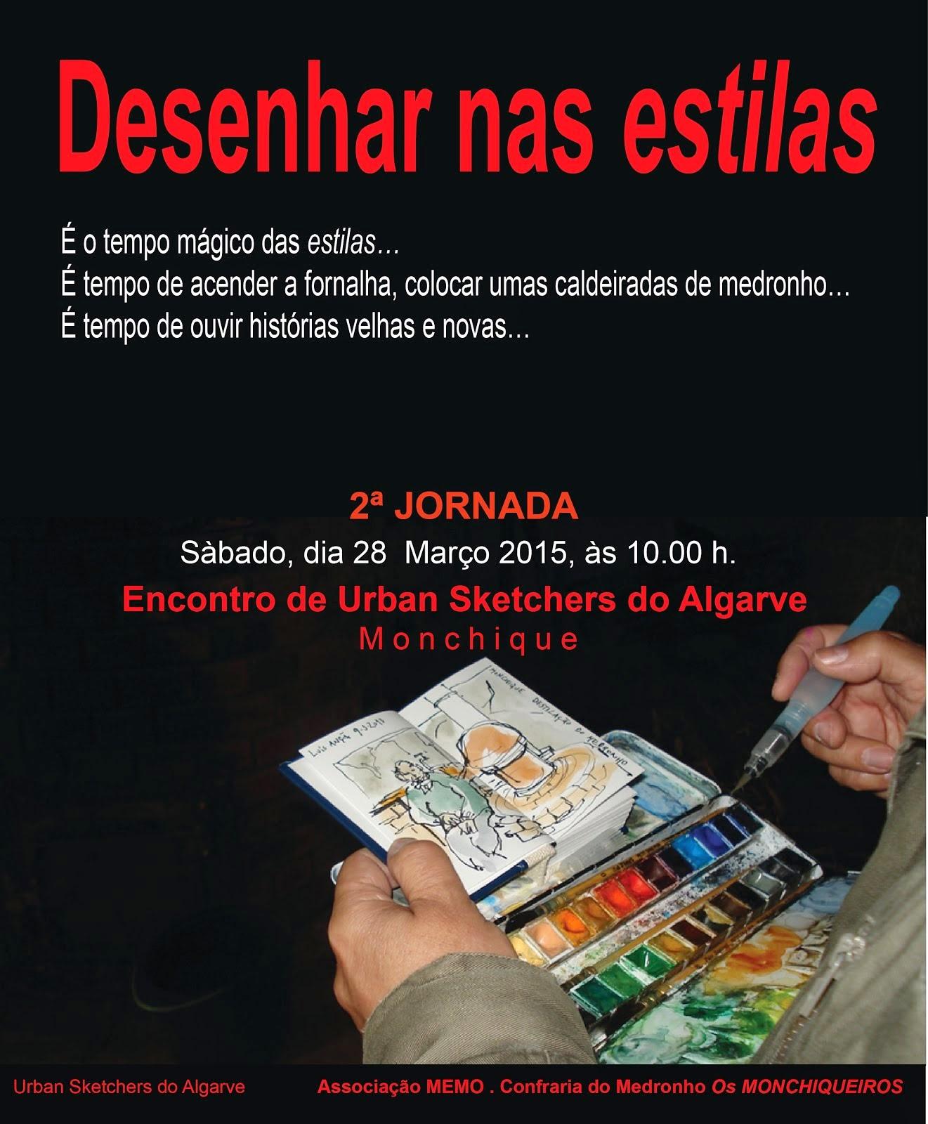 ENCONTRO USkP Algarve - Desenhar nas Estilas 2ª jornadas