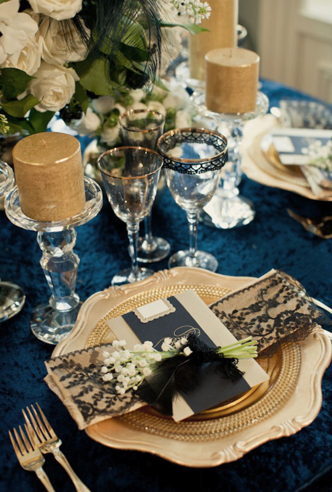 Place Settings Wedding Receptions Belle The Magazine