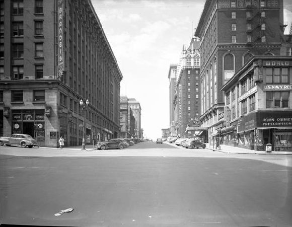 Downtown Omaha 1945