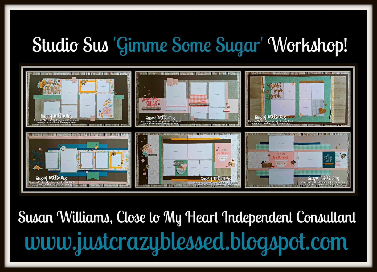 'Gimme Some Sugar' Scrapbooking Workshop!