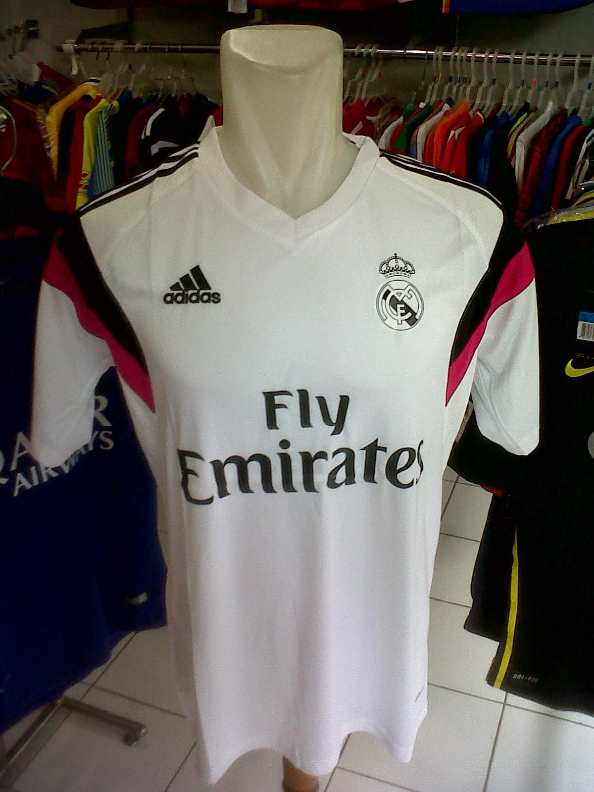 Jersey Training Real Madrid White 2014/2015