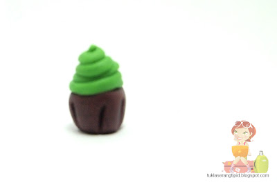 clay cupcake food sweet desert handcrafts arts creative DIY