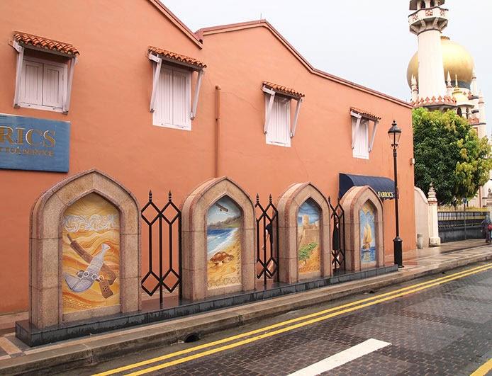 Omani scenes - Muscat Street, Singapore
