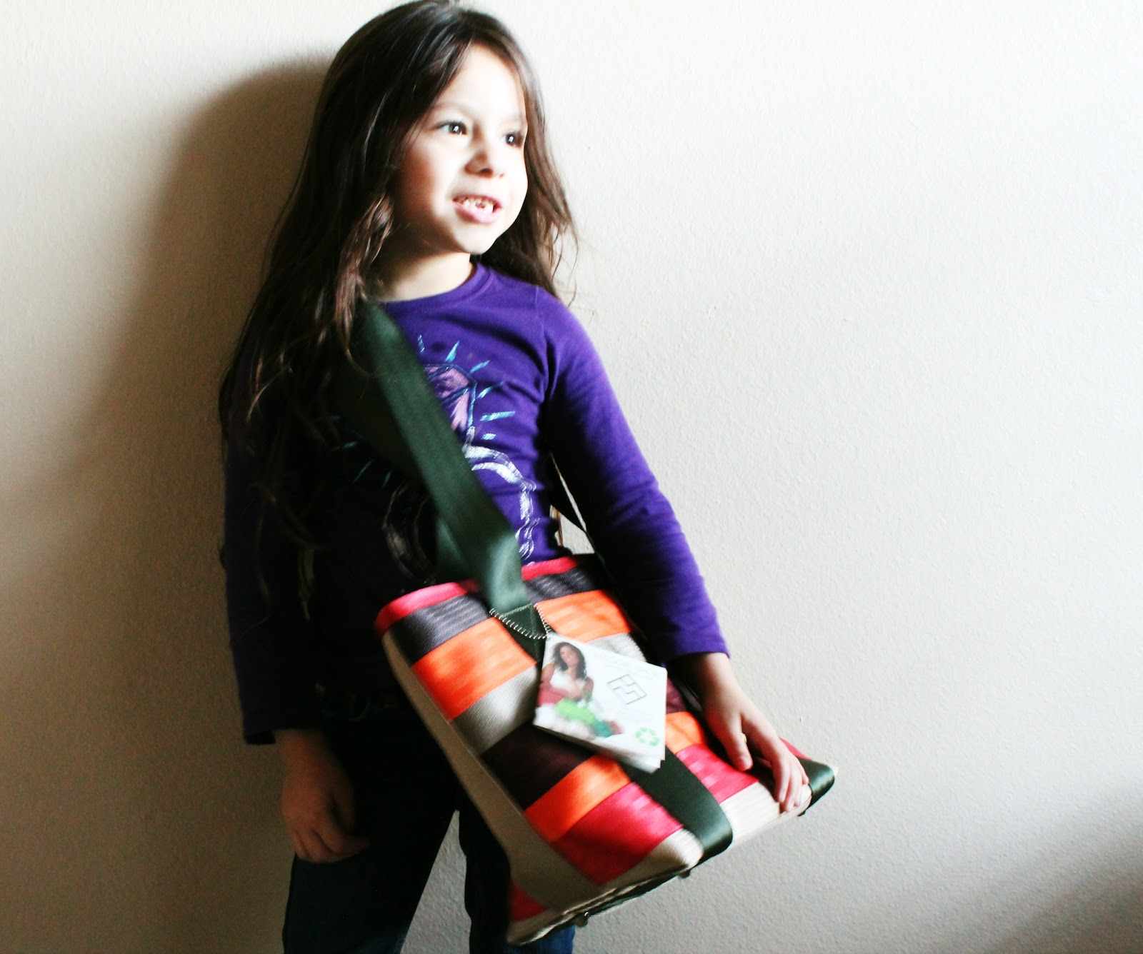 seat belt bags, totes, purses. Eco-friendly