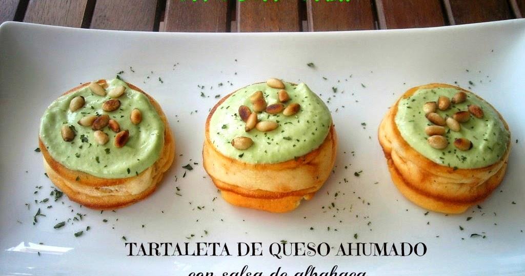 Pa mojar pan tartaletas de queso ahumado con salsa de - Tapas rapidas y baratas ...
