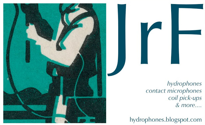 JrF Hydrophones and Contact Mics