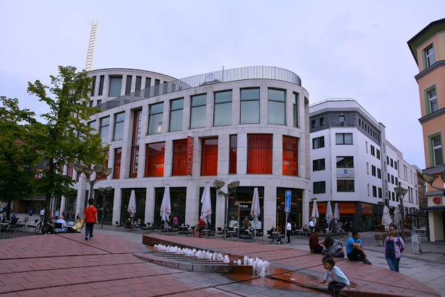 Duisburg shopping street
