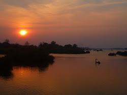 sunset, 4000 islands