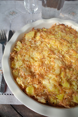 Запеканка рыбная с картофелем и сельдереем