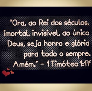 1 Timóteo 1:17