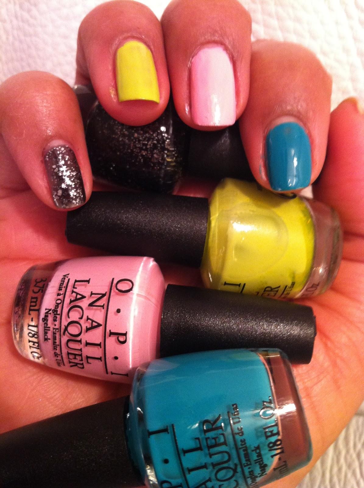 OPI Nicki Minaj Nails   Beauty Passionista