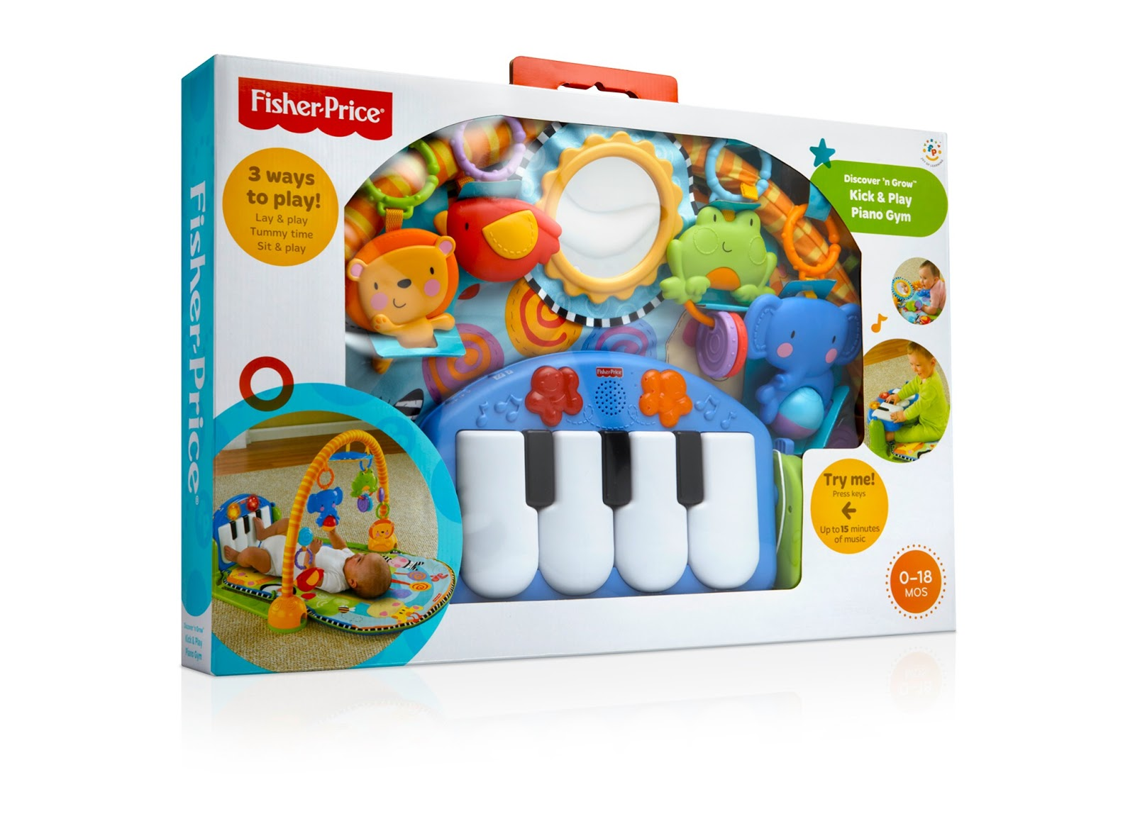Fisher-Price Rebrand on Packaging of the World - Creative Package Design Gallery