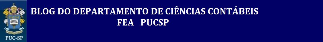 CURSO DE CIÊNCIAS CONTÁBEIS FEA PUCSP