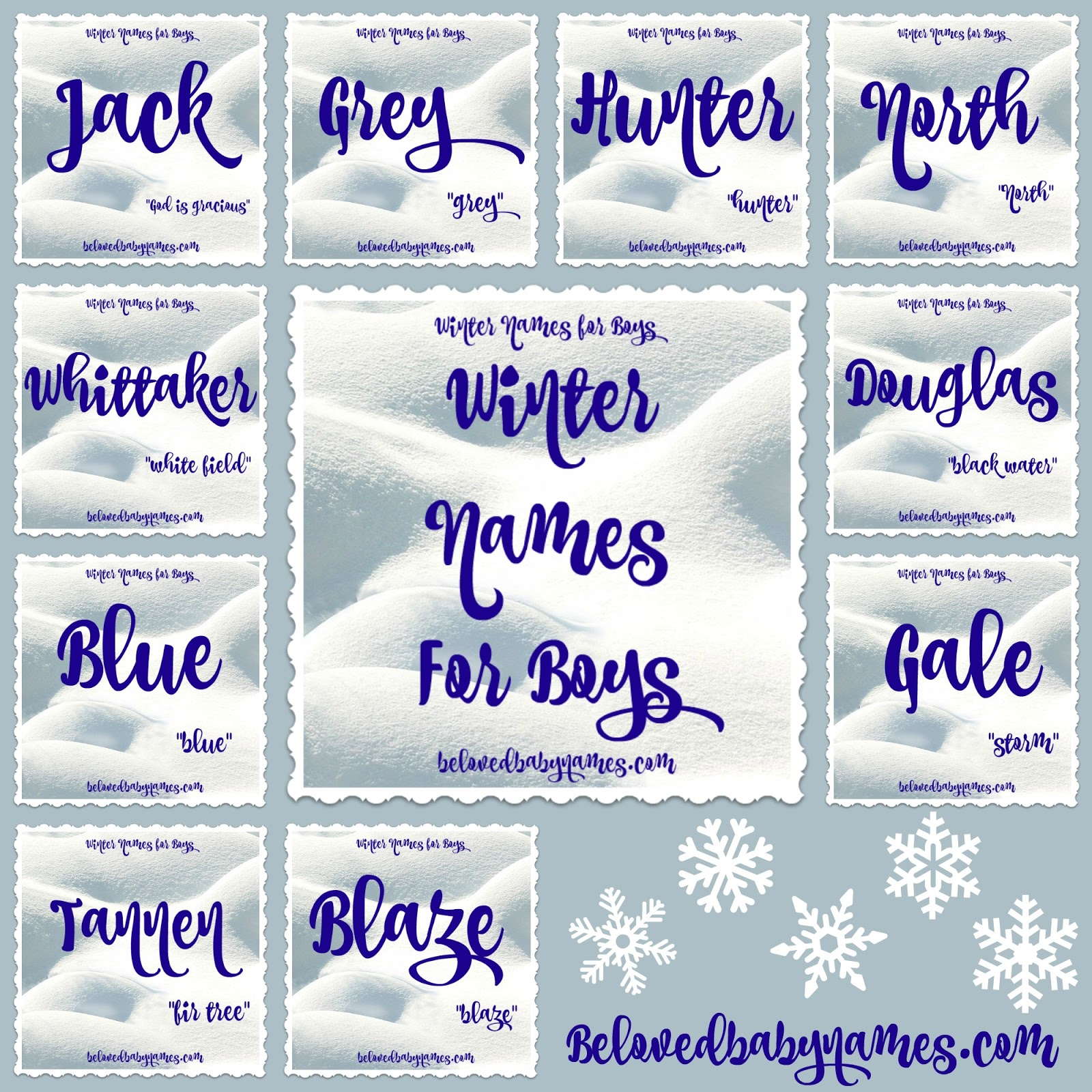 c7903050f Beloved Baby Names  Wonderful Winter Names For Boys