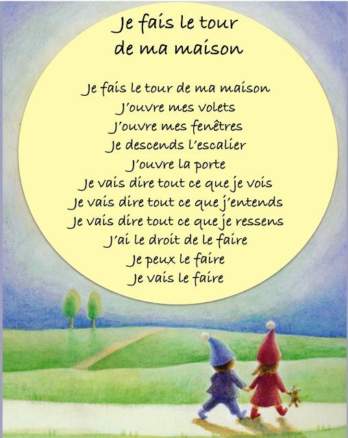"""Texte, Elisabeth nuyts,  illustration extraite de """" Dans mon jardin tout rond"""", Ed Nathan"""