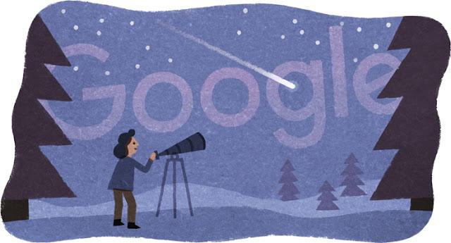 Beatrice Tinsley's 75th Birthday - Google Doodle