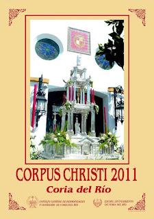 Coria del Río - Cartel Corpus Christi 2011