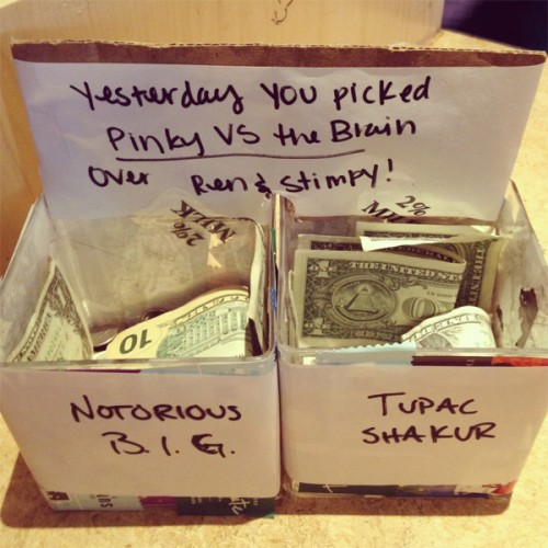 Gallery funny game gallery funny and creative tip jars for Cool money jars