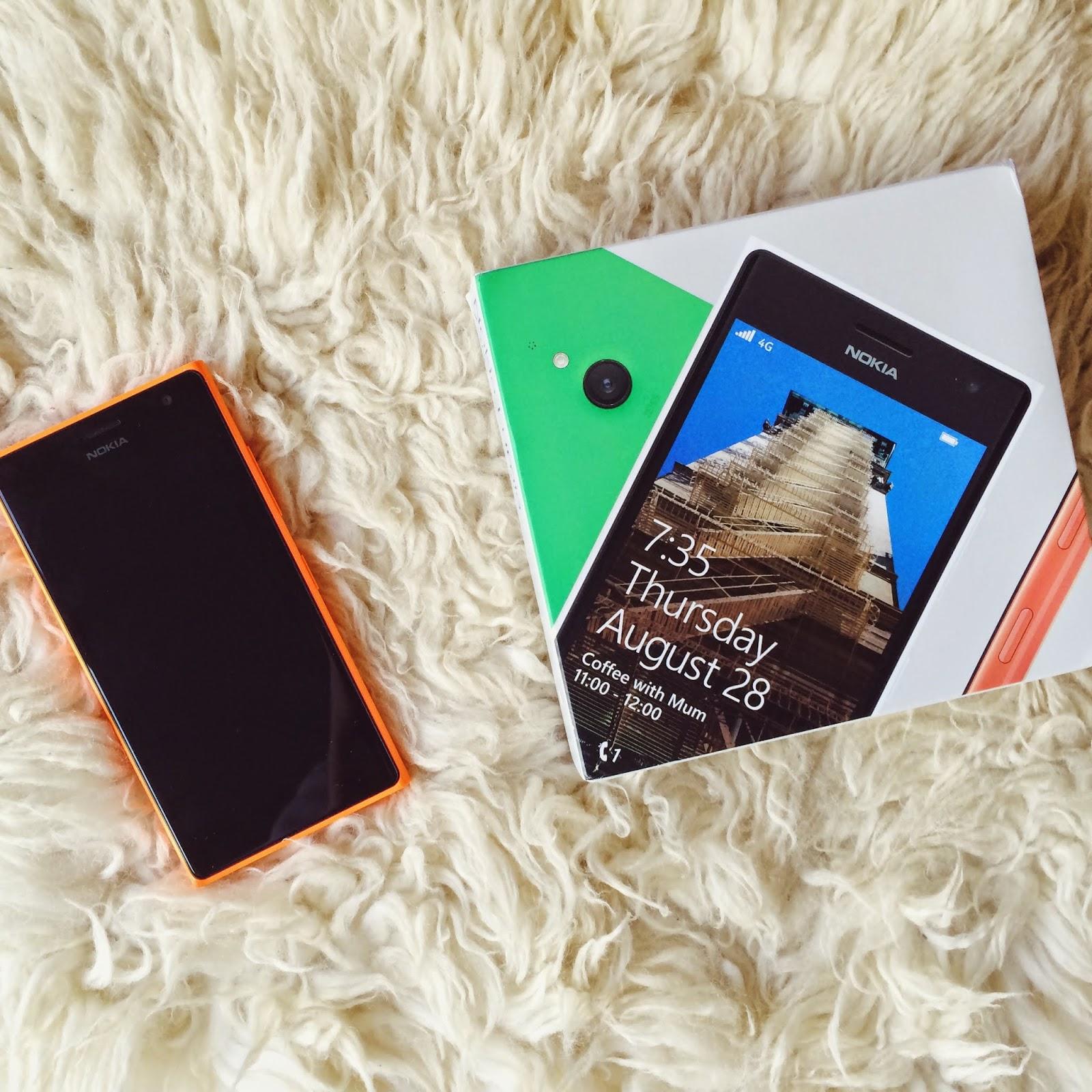 UK lifestyle blog, Lumia phone review