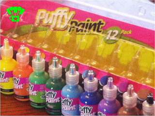 puffy paint 12 pack of colors
