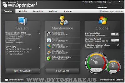 New%2BPicture Ashampoo WinOptimizer 9.1.1   Full Version