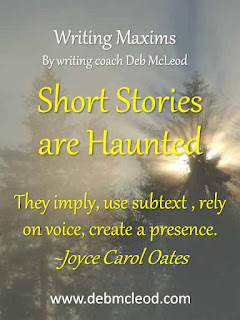 Deb McLeod creative writing coach on short stories
