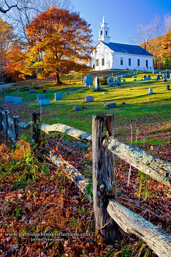 Church Fence, Guilford, Vermont