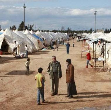 Pengungsi Suriah Lebih 2 Juta