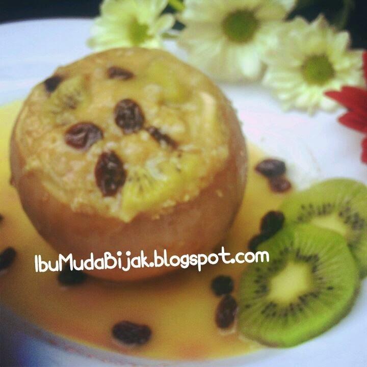 Diet Recipe Fruity Oatmeal Baked Apple