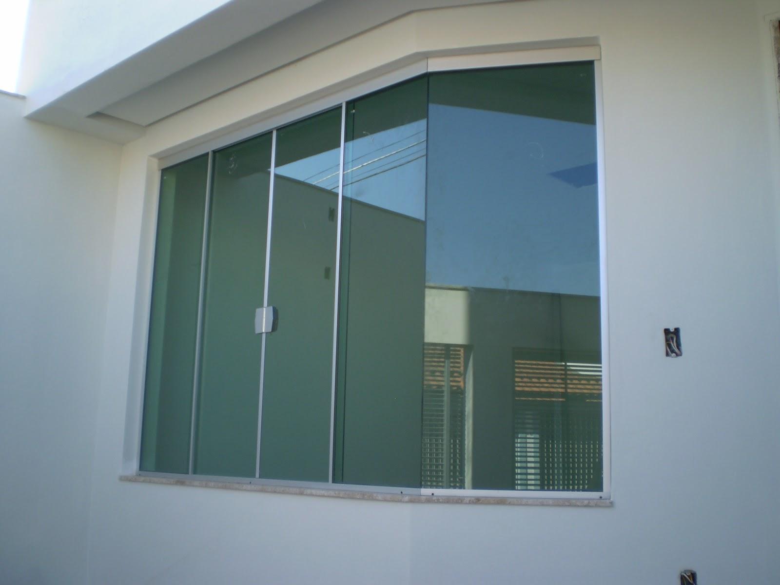 #4D6B7E Casa da Áurea: Notícias vidros e pintura 236 Janelas De Vidro Para Sala