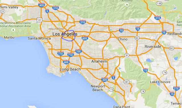 A nous la Californie: 5 comparaisons de taille entre USA et Europe