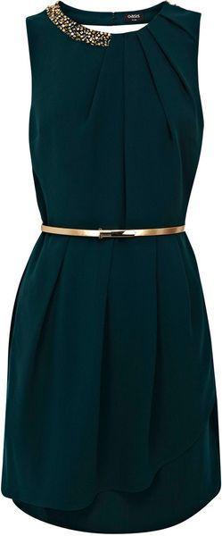 Sleeveless Mini Dress With Belt