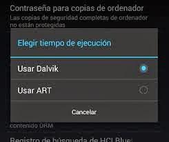 Activar Art en Android, como activar art en el nexus