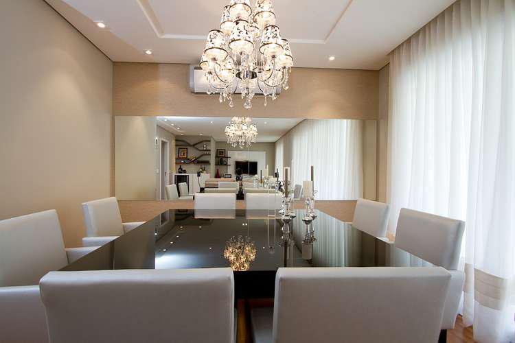 Salas Pequenas Decoradas Com Espelhos ~ 12 salas de jantar decoradas com espelhos + dicas  Decor Alternativa