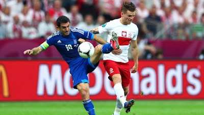 Polonia-Grecia 1-1 highlights