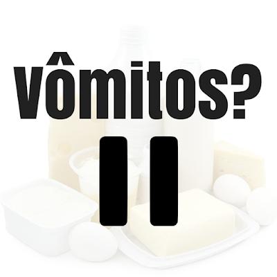 O que comer depois de vomitar