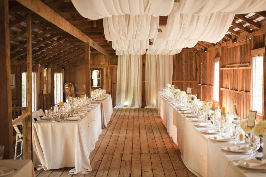 Country wedding decor and ideas the country chic cottage for Home wedding reception decorations